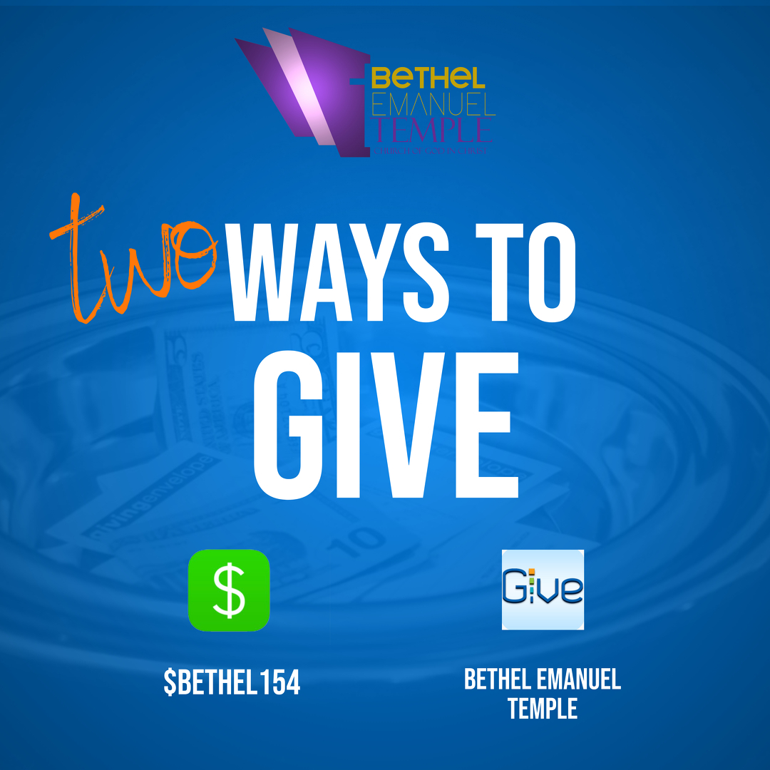 2 Ways To Give